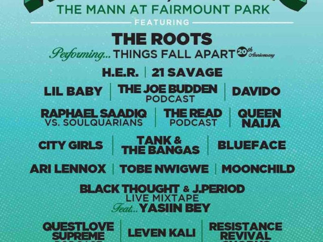The 2019 Roots Picnic Lineup Has Been Revealed