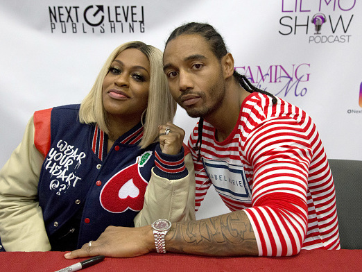 Call The Cutlers: Watch Lil Mo's Alleged Dirty Doggin' Hubby Stumble Over Questions About Creeping