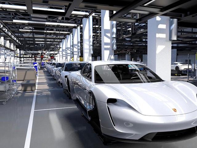 Porsche Taycan production adds 1,200 jobs in Zuffenhausen