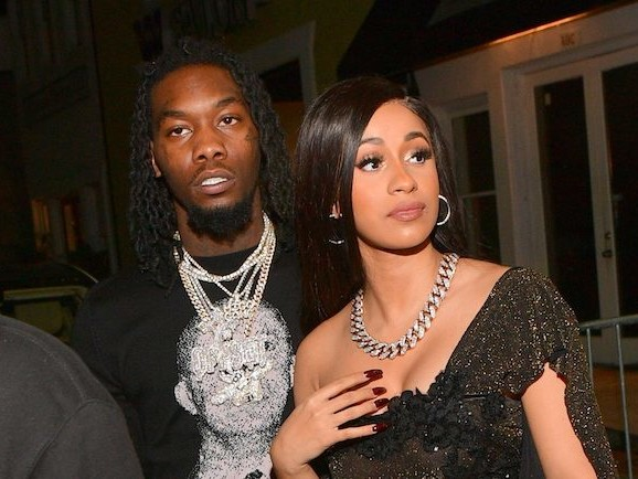 Harmonious Hood Loving: Offset Gets Cardi B's Name Tatted On His Neck