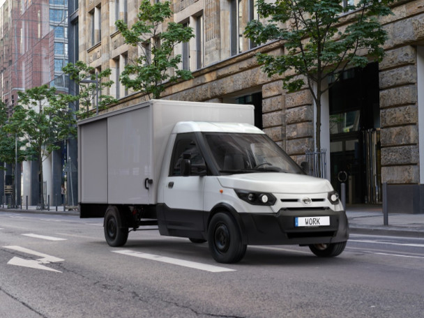 StreetScooter showcases all-new versions of successful WORK and WORK L electric light commercial vehicles