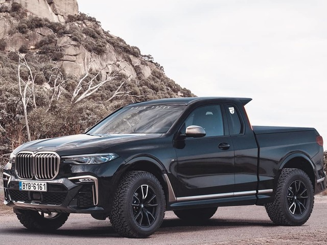Should BMW make an electric pickup truck, a la Tesla Cybertruck?