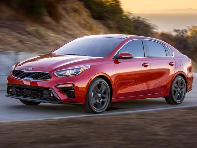 2019 Kia Forte borrows cues from the Stinger