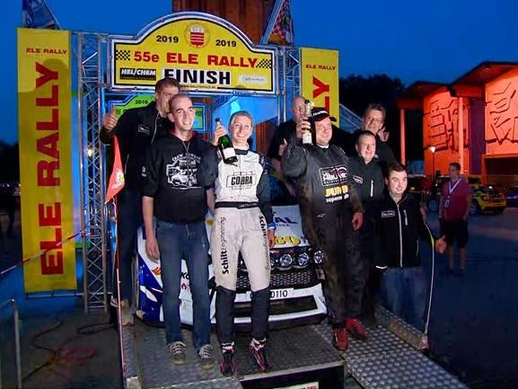 Jasper van den Heuvel wint 55e ELE Rally