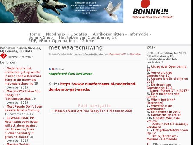 Nederland is het donkerste gat op aarde. Insider Ronald Bernhard komt in dit interview met waarschuwing