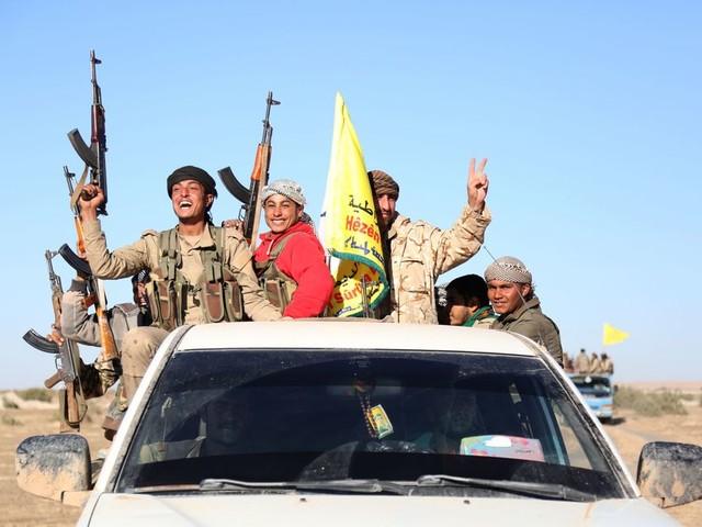 Training VS aan Koerden zet verhoudingen in Syrië verder op scherp