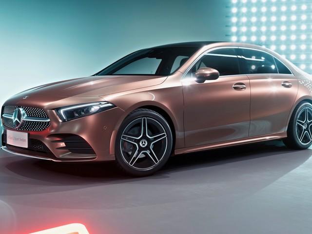 Mercedes-Benz A-Class L Sedan rivals the BMW 1 Series
