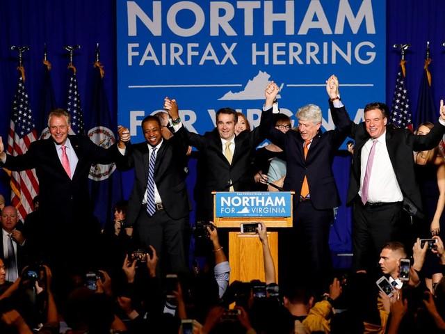 Na de overwinning in Virginia zien de Democraten licht aan het eind van de tunnel