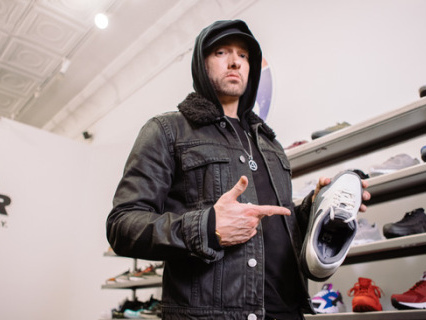 """Shots Fired: Eminem Says """"F**k Drew Brees"""" On His Latest Release Featuring Kid Cudi [Audio]"""