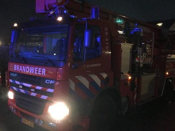 Brandweer rukt uit voor keukenbrand in Almelo