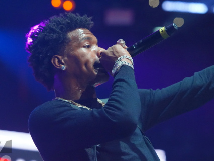 For The Fans: Lil Baby Performs For Free At Southern University's Homecoming In Baton Rouge
