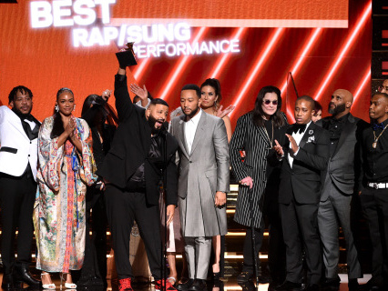 For Nip: DJ Khaled & Nipsey Hussle's Family Discuss His Legacy Backstage At The Grammys