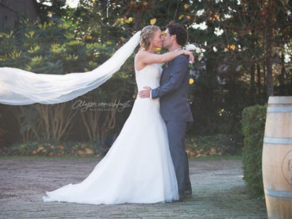 Kiki Bertens marries physiotherapist Remko de Rijke