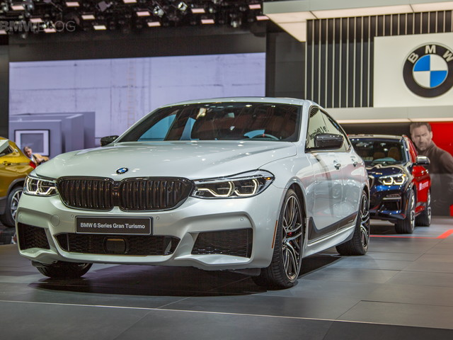 2018 Detroit Auto Show: M Performance Parts fitted on a 6 Series GT