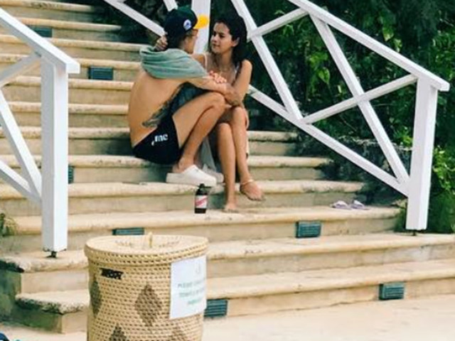 Justin Bieber Brings Selena Gomez As His Date To His Father's Wedding In Jamaica