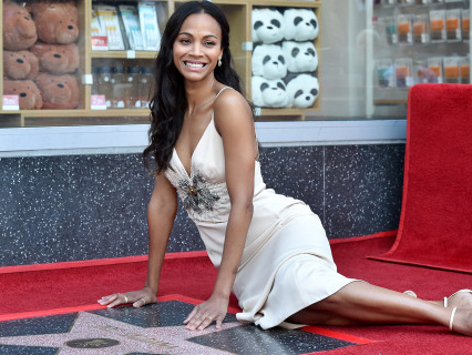 Zoe Saldana Is Our Favorite Adventurous Afro-Latina Avatar Avenger Of All Time