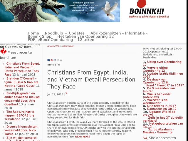 Christians From Egypt, India, and Vietnam Detail Persecution They Face