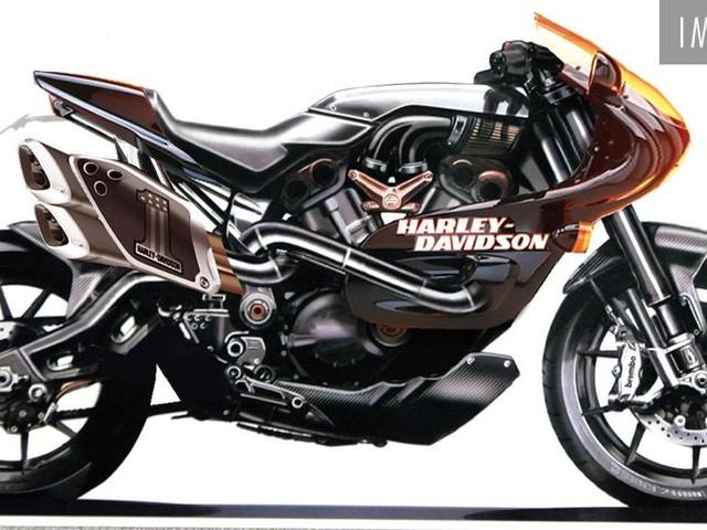 Harley-Davidson Faired Motorcycle Under Development