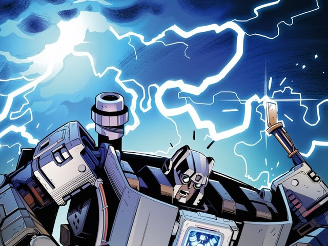 There Is Now A Back to the Future Transformers Crossover Comic Series