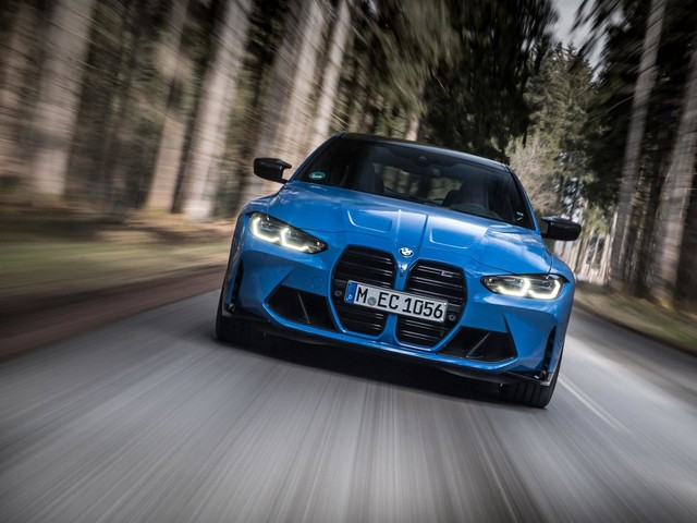 2022 BMW M3 and M4 with xDrive – New Photo Gallery
