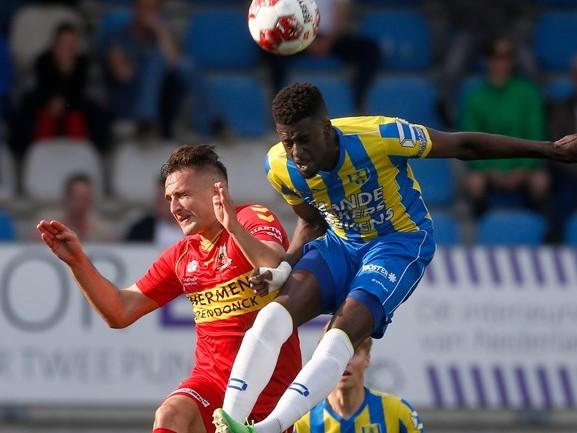 RKC Waalwijk heeft in jacht op promotie klein voordeel na gelijkspel tegen Go Ahead Eagles