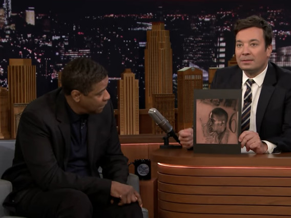 Denzel Washington Found Out About Drake's Denzel Washington Tattoo [Video]