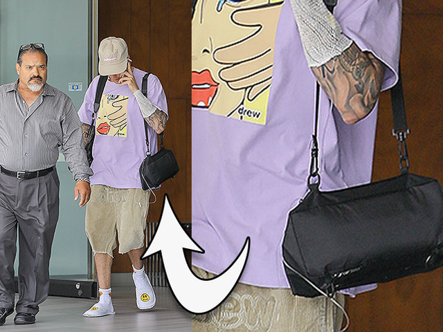 MUST-SEE VIDEO - Why Does Justin Bieber Have An IV In His Arm?!