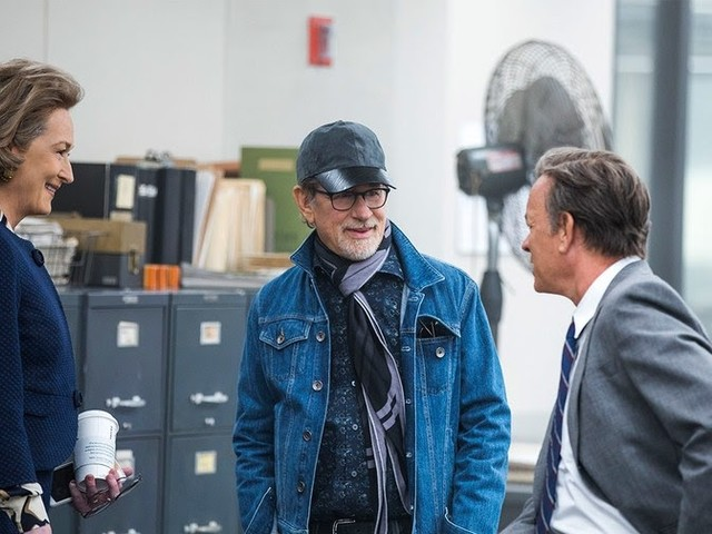 Spielberg on The Post - 'Strong Desire To Tell This Story Now'