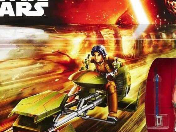 The Bearded Trio Christmas Gift Idea #1 - Ezra's Speeder From Star Wars Rebels. Win One Here.