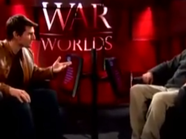 VIDEO - Steven Spielberg and Tom Cruise Interview Each Other - 2005