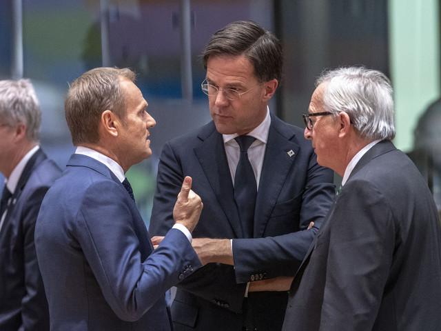 Rutte in de weer met overleg over topbanen EU