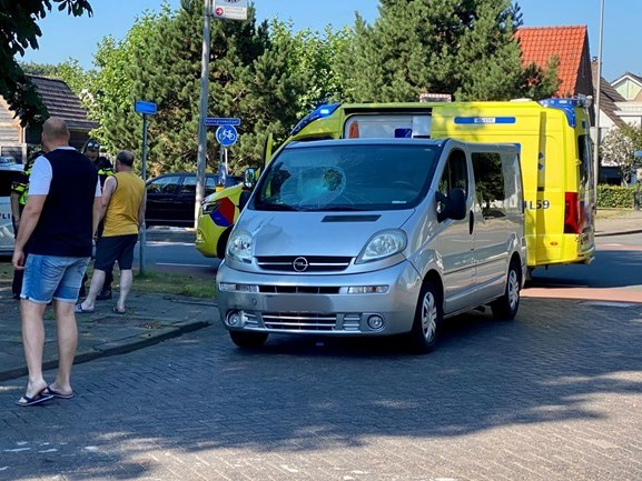 Fietsster gewond bij aanrijding in Nijverdal