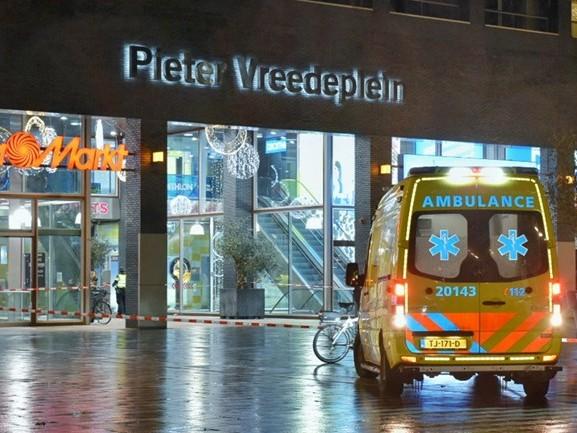 Steekpartij in Tilburg, dader vlucht McDonald's in