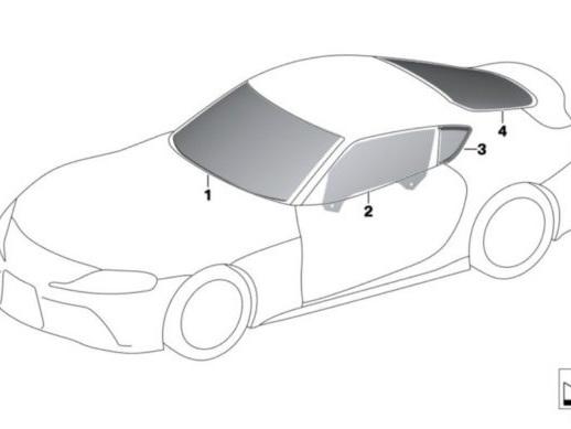 2020 Toyota Supra parts guide previews its interior