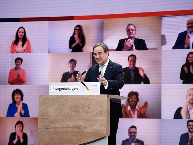 Armin Lanschet, de man van het midden, gaat de CDU leiden