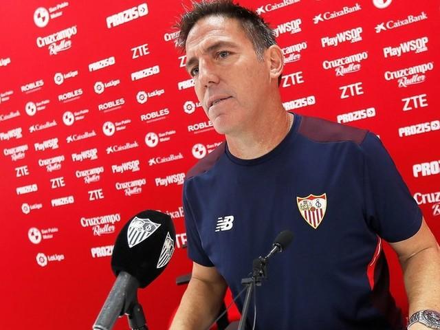 Sevilla voorlopig zonder zieke trainer