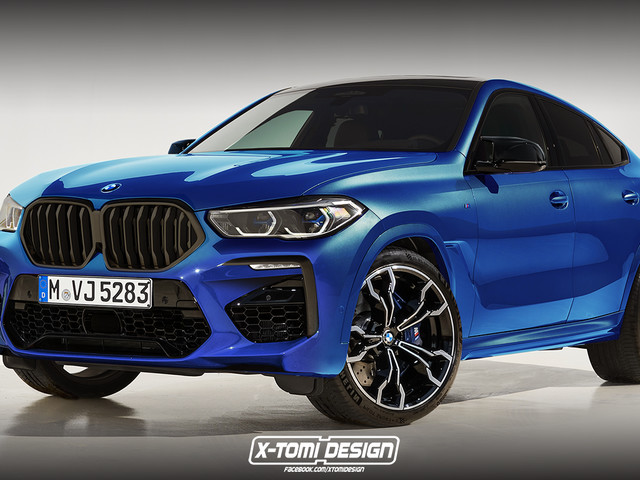 Upcoming BMW X6 M Rendered Accurately