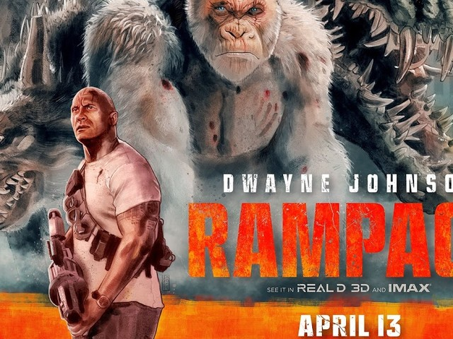 "Movie Review: ""Rampage"" Is Equal Parts Dumb And Fun"