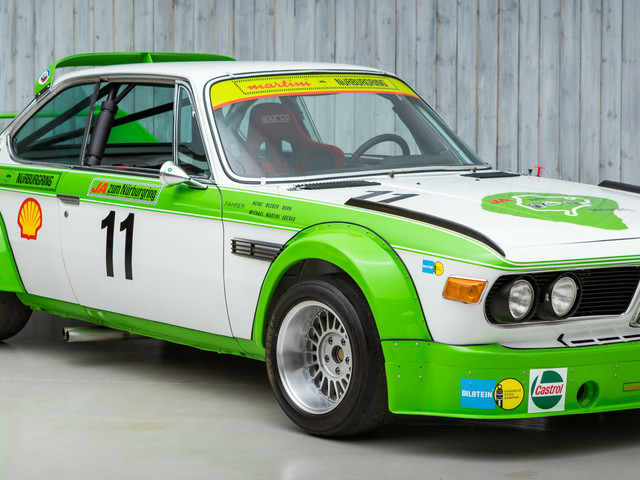 This 1978 BMW 3.0 CSL Racer is for sale and it's fantastic
