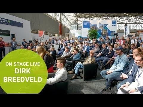Live on stage: Dirk Breedveld