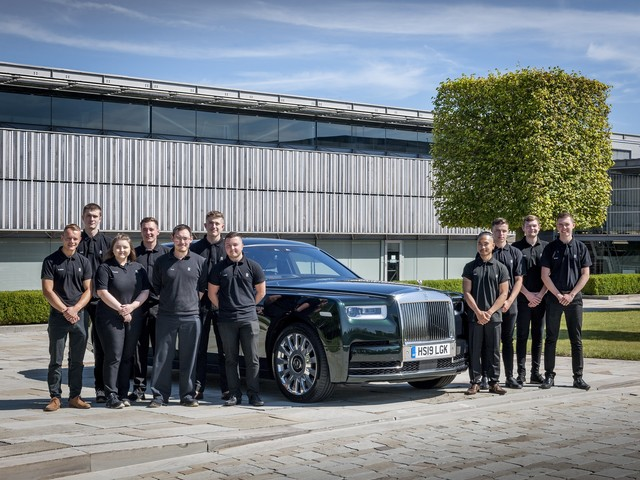 Rolls-Royce Announces Record Apprentices Number for 2019