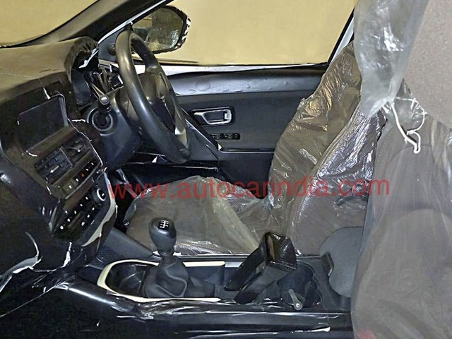 Tata H5X Interior Revealed In New Spy Pictures