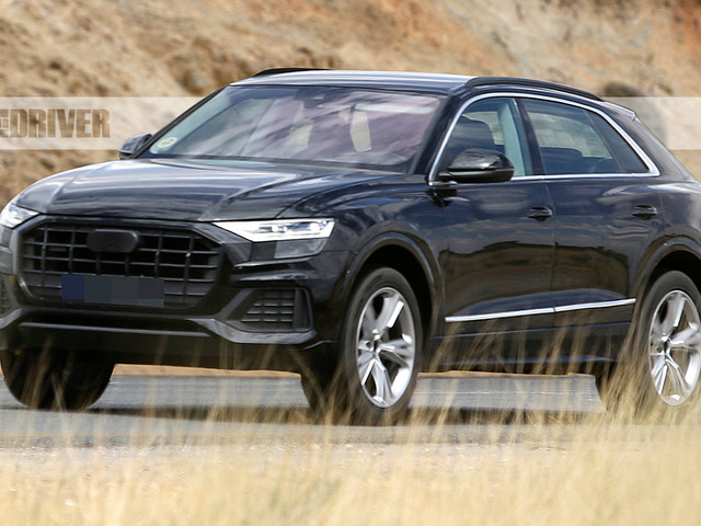 2019 Audi Q8 Spied: Take a Good Look at Audi's Crossover Coupe