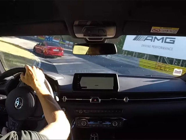 Video: Toyota Supra Plays with BMW M3 on Nurburgring