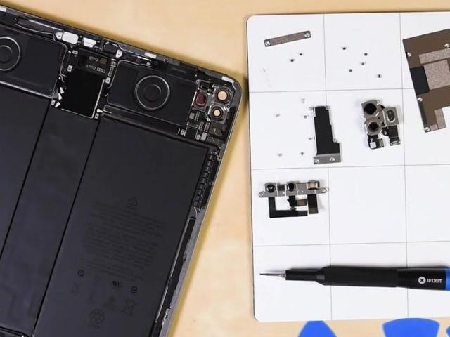 iPad Pro 2020-teardown: zo ziet de LiDAR-dieptescanner eruit