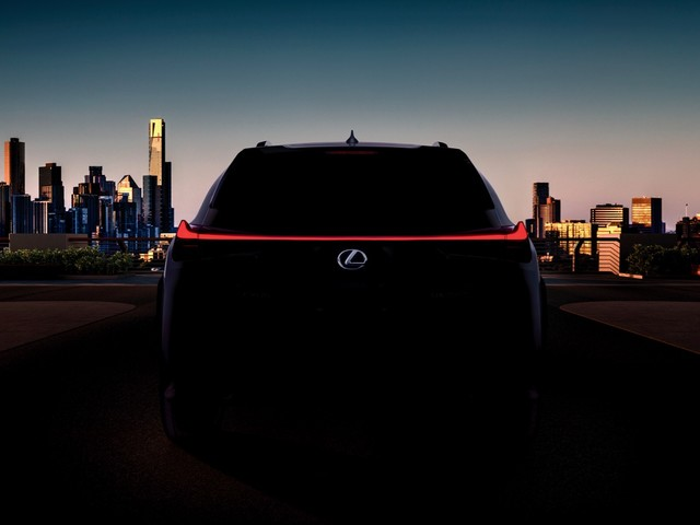 2019 Lexus UX crossover teased ahead of its debut in Geneva