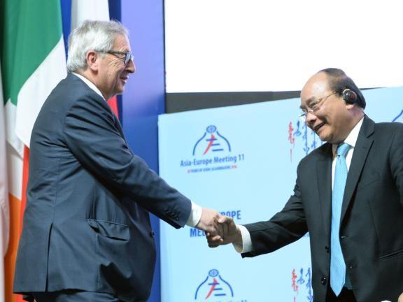 EU en Vietnam tekenen aanstaande zondag vrijhandelsverdrag