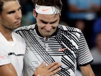 Nadal profiteert van afmelding Federer
