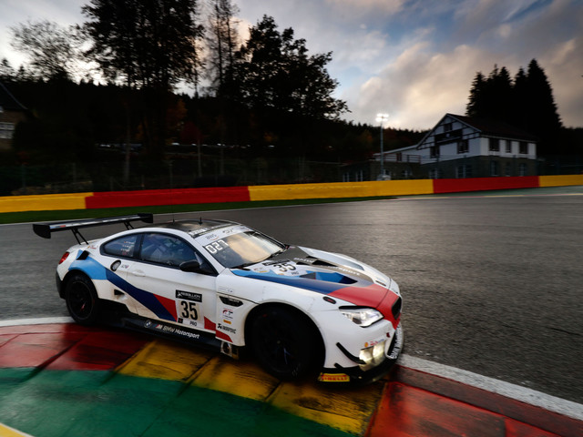 BMW M6 GT3 cars forced to retire early in Spa 24-hour race