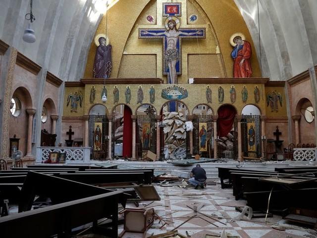 Predikant in Beiroet: 'Het is een dag van nationale rouw, maar ook van solidariteit'